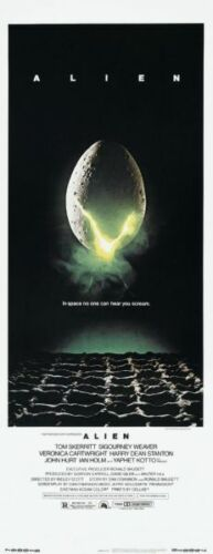 "Alien Poster Movie Poster Insert 14/""X36/"""