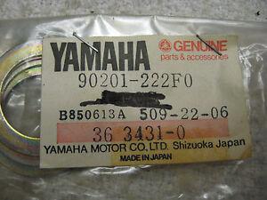 Yamaha OEM NOS plate washer 90201-222F0  #2224
