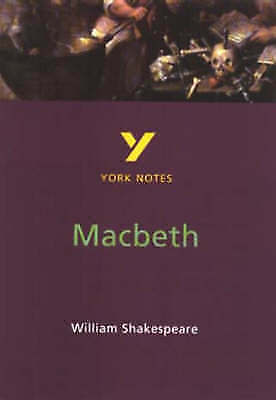"""1 of 1 - York Notes on William Shakespeare""""s """"Macbeth"""", James Sale, Good Used  Book"""
