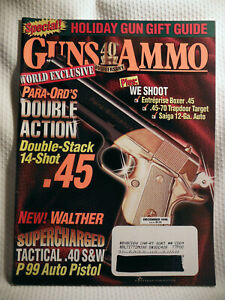 GUNS-amp-AMMO-40th-ANNIVERSARY-1998-WORLD-EXCLUSIVE-PARA-ORD-039-S-DOUBLE-ACTION-45