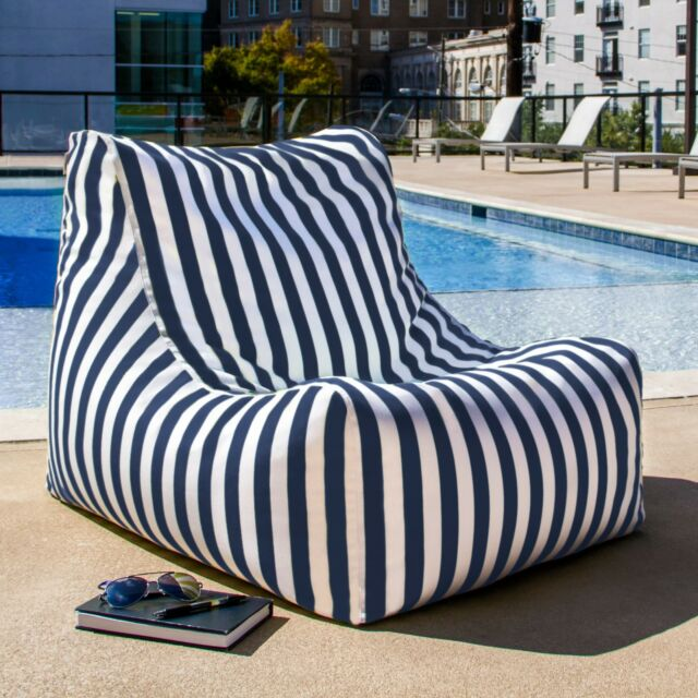 Ja Ponce Outdoor Patio Bean Bag Chair