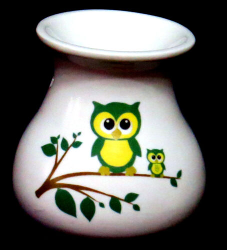 Owls Bone China Oil Burner idealfor wax melts essential oils or  yankee tarts.