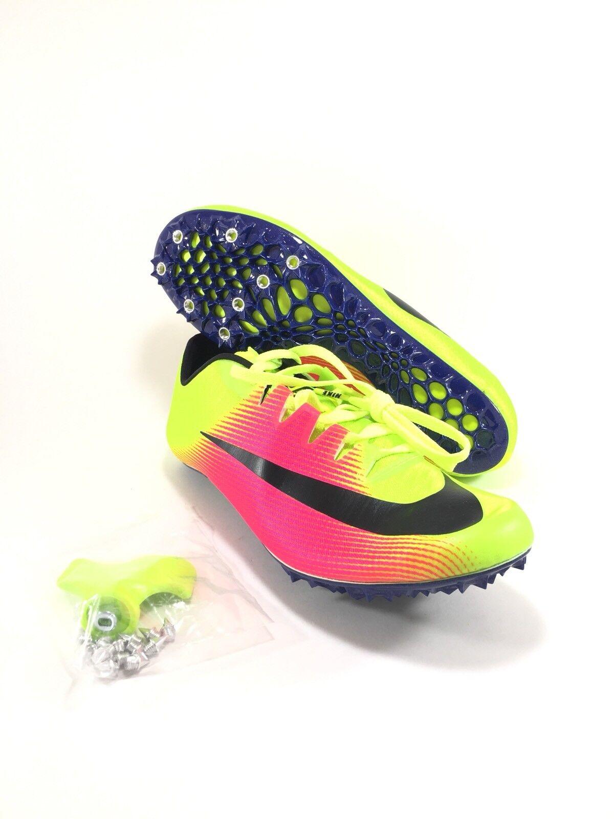 Nike Zoom Men's JA FLY 3 OC Rio Track & Field Spikes Volt Size 11.5 (882032-999)
