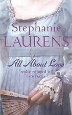 All About Love (Bar Cynster), Stephanie Laurens, Paperback, New