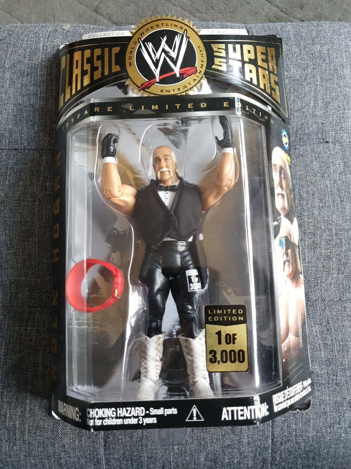 WWE Classic Superstar  Toyfare Exclusive Hulk Hogan édition limitée WWF WCW RARE  profiter de vos achats