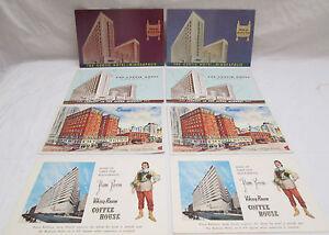 Vintage-Lot-of-8-Minnesota-Postcards-Curtis-Hotel-Minneapolis-Lowry-St-Paul