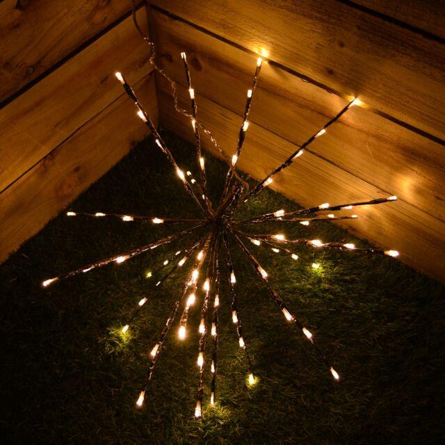 Lumineo  LED  Christmas Light Bulbs  Warm White  80 lights