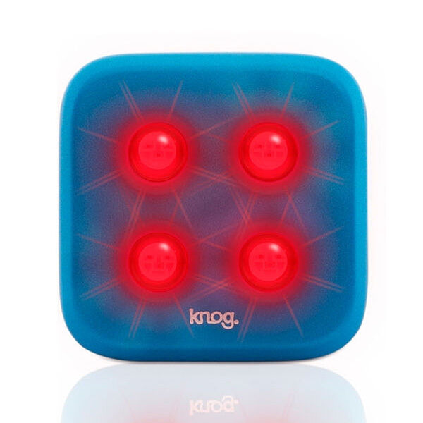 Knog  Blinder 4 LED Rechargeable Rear Light bluee   Road Bike MTB Bicycle Fixie  up to 42% off