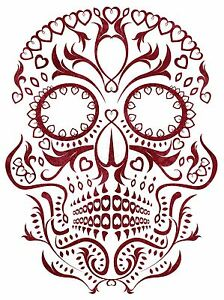 Impresión Arte Cartel Pintura Dibujo Decorados Día De Muertos