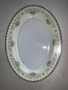 Noritake-Bone-China-Japan-16-X-12-Inches-Serving-Plater-Plate-Oval