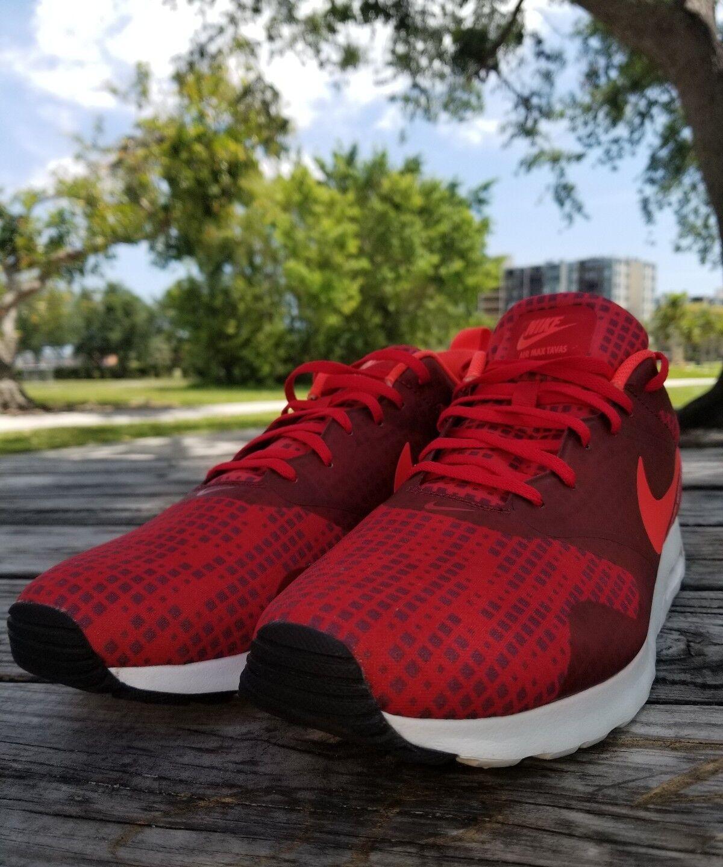 Nike air max tavas stampa [742781-600] numero rosse / borgogna bianco numero [742781-600] 13 922c93