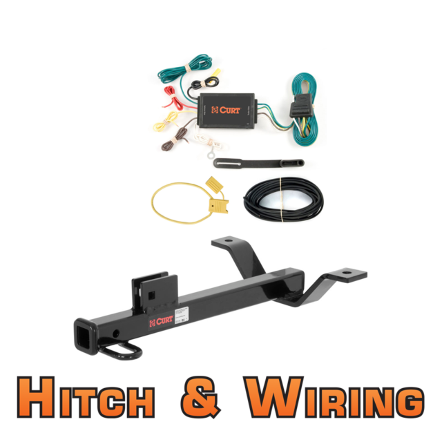 Curt Class 1 Trailer Hitch & Wiring For 2005-2009 Acura RL