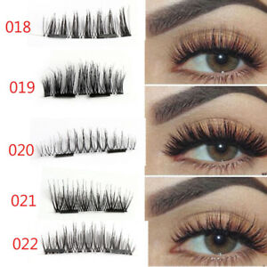 Ultra Skonhe Double Lashes Magnetic 5style Faux Grosse Thin Cils rdxshtoQCB