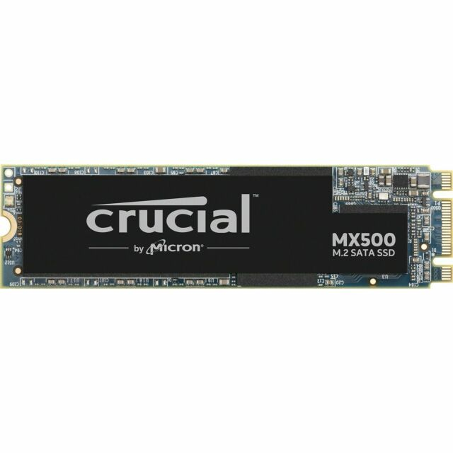 Crucial MX500 M.2 2280 250GB Internal Solid State Drive SSD 560MB/s CT250MX500SS