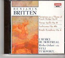 (FH783) Britten, Benjamin: Variations theme of Bridge Op. 10, Opus 16, - 1990 CD