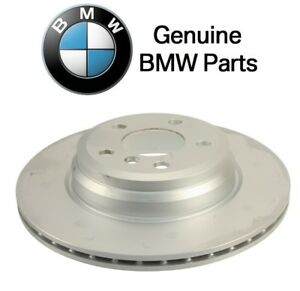For BMW F30 F32 F33 Set of 2 Rear Vented Disc Brake Rotors w// Pads /& Sensor OEM