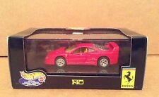 Hot Wheels red Ferrari F40 car vehicle 1:43 diecast metal NEW