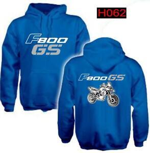 Felpa-cappuccio-blu-moto-personalizzata-Bmw-F800-Gs-hoodie-sweatshirt-H062