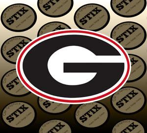 Georgia-Bulldogs-Logo-NCAA-Vinyl-Die-Cut-Sticker-Car-Window-Bumper-Decal