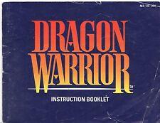 [MANUAL] Nintendo NES Dragon Warrior Instruction Booklet