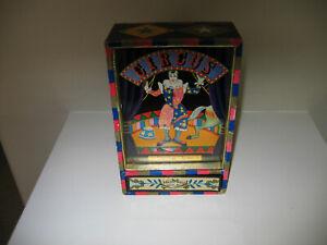 Vintage Circus Dancing Clown Music Box