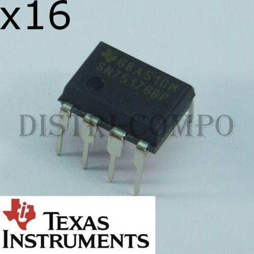SN75176BP Differential Bus Transceivers DIP-8 Texas RoHS lot de 10 ou 16