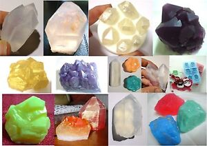 GEMSTONE-Crystal-Gem-Diamond-SILICONE-SOAP-MOULD-Candles-Melts-Hand-Made-Mold