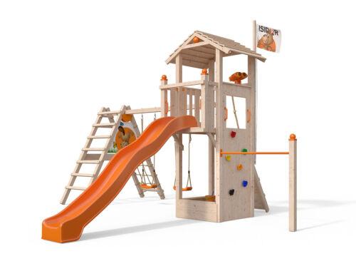 ISIDOR Dori Spielturm tour avec XXL toboggan aire 1,50 m podesthöhe