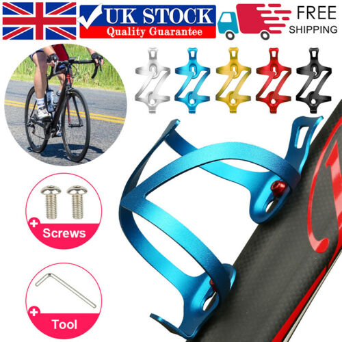 Bicycle Cycling Bracket Mountain Bike MTB Water Bottle Cup Holder Drink Cage UK