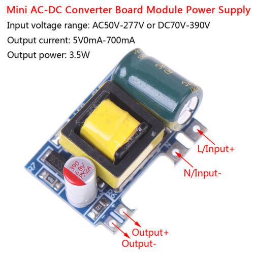 Mini AC-DC 110V 120V 220V 230V to 5V 700mA converter board module power BRPE