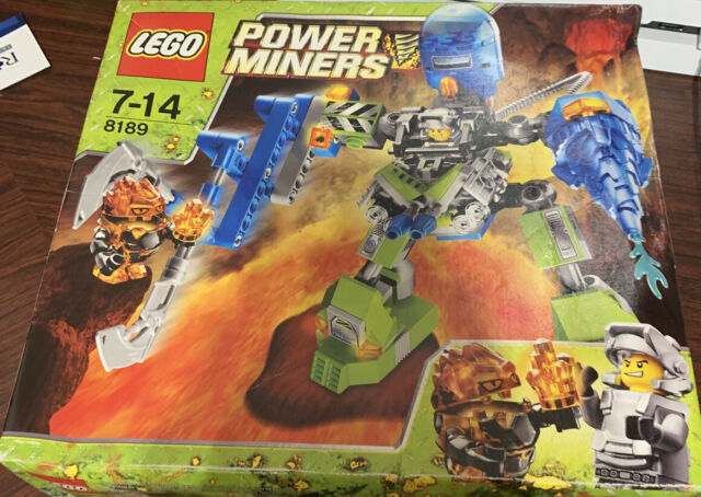 Lego 8189 Power Miners - Magma Mech VERY RARE