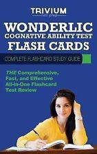 Wonderlic Cognitive Ability Test Flash Cards : Complete Flash Card Study...