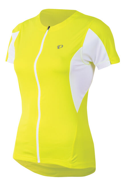 Pearl Izumi Women's Select Bike Cycling Jersey Screaming Yellow - Large