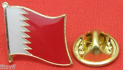 Bahrain Flag Lapel Tie Pin Badge Brooch Kingdom Mamlakat al-Baḥrayn مملكة الب