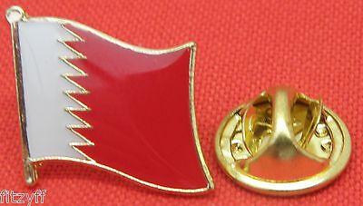 Bahrain Flag Lapel Tie Pin Badge Brooch Kingdom Mamlakat al-Baḥrayn مملكة الب