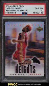 2003 Upper Deck City Heights LeBron James ROOKIE RC PSA 10 GEM MINT