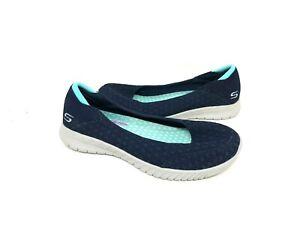 Shop Skechers Women's Wave Lite Loafer Navy On Sale Free