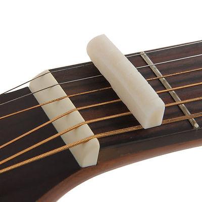 Messing Akustikgitarre Brücke Nuss Sattelmutter Set für Folk Gitarre