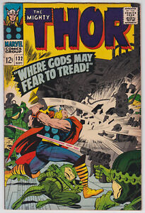 Thor-132-G-VG-3-0-First-Appearance-Of-Ego-The-Living-Planet-Jack-Kirby-Art