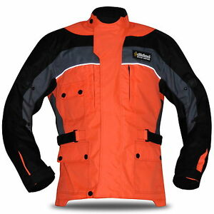 Men-Textile-Motorbike-Motorcycle-Jacket-Cordura-Quilted-Wind-Waterproof-CE-Biker