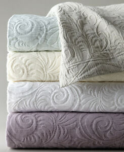 Attractive Image Is Loading Sferra HANNAH King Coverlet Amp Shams Aqua 3