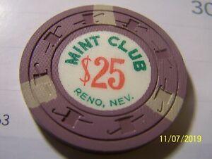 NEVADA-CARD-ROOM-MINT-CLUB-RENO-NV-25-LT-PURPLE-W3-LT-GRAY-H-amp-C-1958