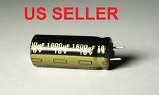 5pcs - 1800UF 16V PANASONIC RADIAL ELECTROLYTIC MOTHERBOARD CAPACITOR 10X24MM