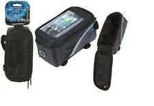 Cross Bar Cycle Bag with Smartphone Waterproof Handlebar MP3 Money Holder 977075