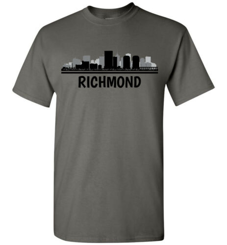 Heren Va mouw Lange T Skyline T Jeugdtank Richmond shirt Gepersonaliseerd shirt Dames wnWapqcPt