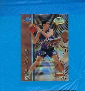 JOHN-STOCKTON-1997-98-BOWMAN-039-S-BEST-BEST-TECHNIQUES-ATOMIC-REFRACTOR-UTAH-JAZZ