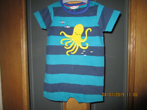 1c94003b5 Image is loading JOHN-LEWIS-ROMPER-SUIT-OCTOPUS-AGE-12-18-