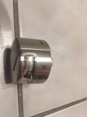 Electrolux Range Burner Knob Silver Frigidaire OEM Part #316535702 1x