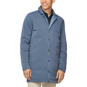 Cole-Haan-Mens-Zerogrand-Blue-Winter-Down-Puffer-Jacket-Outerwear-XL-BHFO-5744