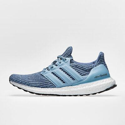 Adidas Da Uomo Ultra Boost 4.0 Scarpe Da Corsa Sport Scarpe Da Ginnastica Grigio Calzature Di Formazione-